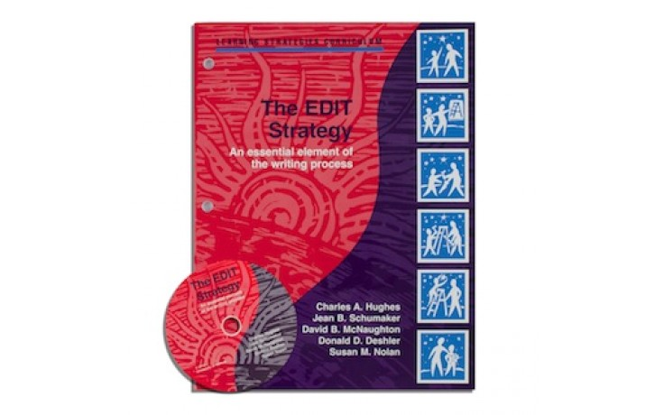 EDIT STRATEGY  (Charles A. Hughes, Jean B. Schumaker, David B. McNaughton, Donald D. Deshler, Susan M. Nolan) (Softcover with CD included))