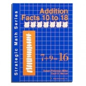 Strategic Math Series: ADDITION FACTS 10 to 18 (Susan Peterson Miller, Cecil D. Mercer)