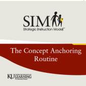 TEACHING WITH THE CONCEPT ANCHORING ROUTINE (2002) (Video Download)