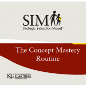 TEACHING WITH THE CONCEPT MASTERY ROUTINE  (1998) (Video Download)
