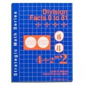 Strategic Math Series: DIVISION FACTS 0 to 81 (Cecil D. Mercer, Susan Peterson Miller)