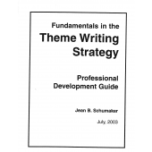 Fundamentals in the Theme Writing Strategy PD Handouts and Scoring Activities (PDF Download)