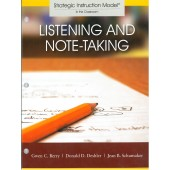 LISTENING AND NOTE-TAKING STRATEGY (Gwen C. Berry, Donald D. Deshler, Jean B. Schumaker) (PDF Download)