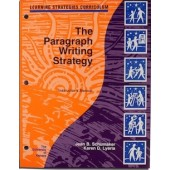 THE PARAGRAPH WRITING STRATEGY INSTRUCTOR'S MANUAL (Jean B. Schmaker, Karen D. Lyerla) (BUNDLE: Softcover manual and PDF download)