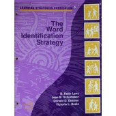 THE WORD IDENTIFICATION STRATEGY (B. Keith Lenz, Jean B. Schumaker, Donald D. Deshler, Victoria L. Beals) (Softcover)