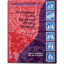 PROFICIENCY IN THE SENTENCE WRITING STRATEGY INSTRUCTORS MANUAL (Jean B. Schumaker, Jan B. Sheldon) BUNDLE: PDF DOWNLOAD and MANUAL