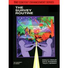 THE SURVEY ROUTINE (Donald D. Deshler, Jean B. Schumaker, Philip C. McKnight) (Softcover)